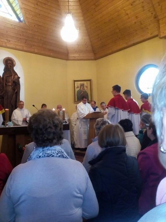 """Nasza parafia zaangażowała się w ogólnopolską akcję: """"Różaniec do granic"""