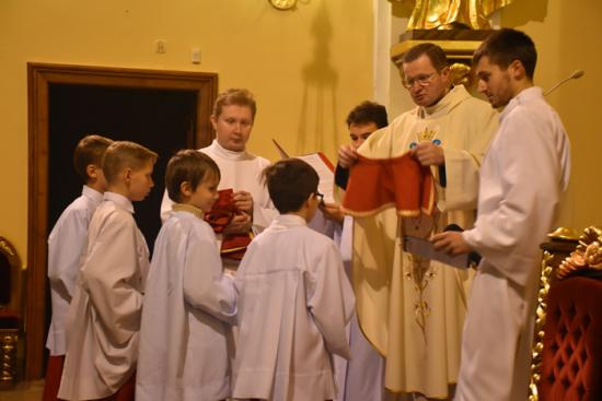 Coroczne święto ministrantów i lektorów