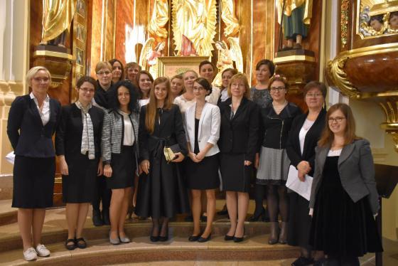 Żeński Zespół Wokalny działający przy parafii p.w. Bożego Ciała w Bytomiu Miechowicach