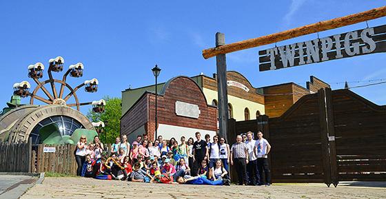 Wycieczka ministrantów i marianek do ZOO w Ostravie i miasteczka westernowego w Żorach